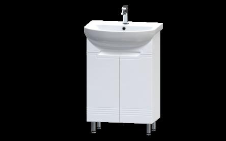 Aquart GRAND Тумба 50 (Белая), под умывальник Arteco 50