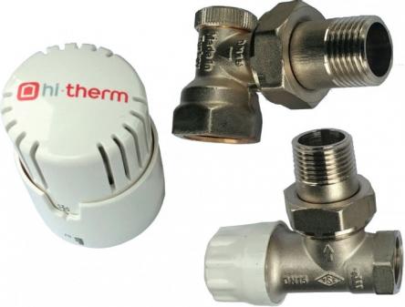 """Hi-therm Комплект подключения радиатора угл. 1/2"""""""