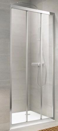 Koller Pool TT90G Душевая дверь TREND трехсекционная 900x1900 мм стекло grape - TT90G