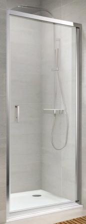Koller Pool NS90G Душевая дверь NEON односекц. распашная 900x1900 мм стекло grape - NS90G