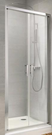 Koller Pool ND90G Душевая дверь NEON двухсекц. распашная 900x1900 мм стекло grape - ND90G