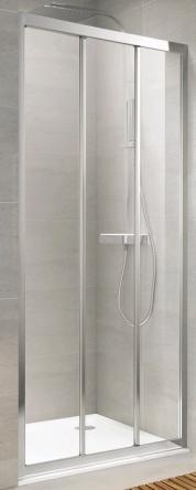 Koller Pool TT90C Душевая дверь TREND трехсекционная 900x1900 мм стекло прозрачное - TT90C