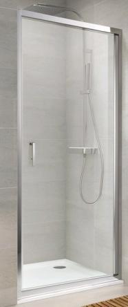Koller Pool NS90C Душевая дверь NEON односекц. распашная 900x1900 мм стекло прозрачное - NS90C