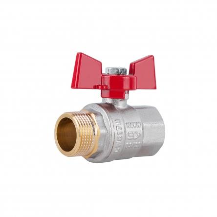 """Кран кульовий SD Plus 3/4"""" ВЗ для води (метелик) SD607NW20PN40"""