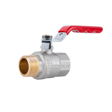 """Кран кульовий SD Plus 3/4"""" ВЗ для води (важіль) SD605NW20PN40"""