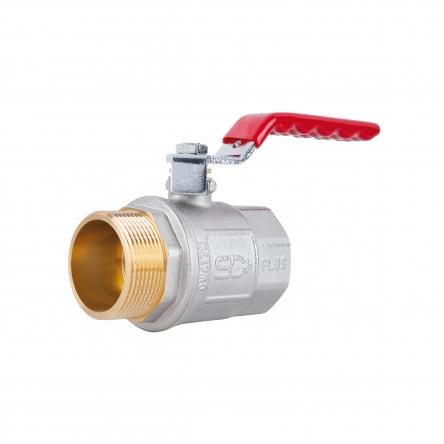 """Кран кульовий SD Plus 1"""" 1/2 ВЗ для води (важіль) SD605NW40PN40"""