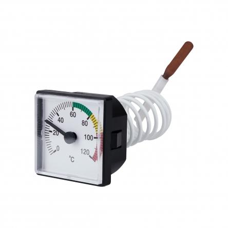 Термометр капілярнийSD Plus 48х48 мм SD176