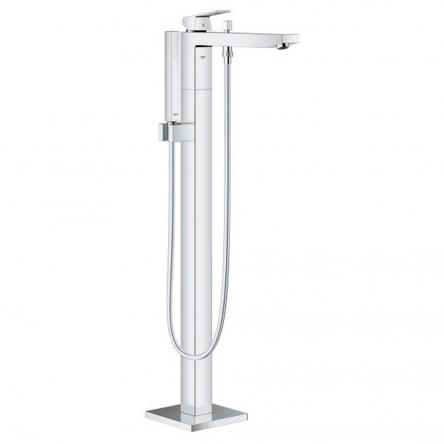 Grohe Eurocube Смеситель для ванны однорычажный, DN 15, напольный монтаж, хром - 23672001