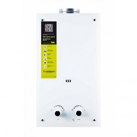 Газова колонка Thermo Alliance димарна JSD20-10GE 10 л скло (біле)