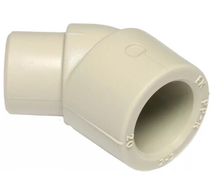 Ekoplastik Колено 45? B/H 16 мм