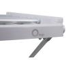 Сушарка для білизни електрична Qtap Breeze (SIL) 57702 з терморегулятором