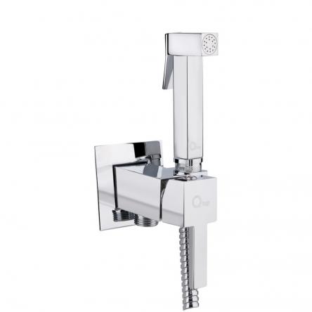 Набір для гігієнічного душу зі змішувачем Qtap Inspai-Varius CRM V00440201