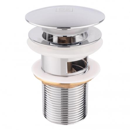 Донний клапан для раковини Lidz (CRM)-47 00 003 00 з переливом