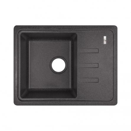 Кухонна мийка Lidz 620x435/200 BLA-03 (LIDZBLA03620435200)