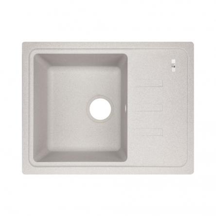 Кухонна мийка Lidz 620x435/200 GRA-09 (LIDZGRA09620435200)