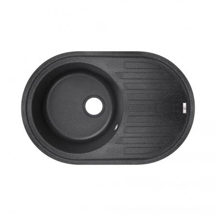 Кухонна мийка Lidz 780x500/200 BLA-03 (LIDZBLA03780500200)