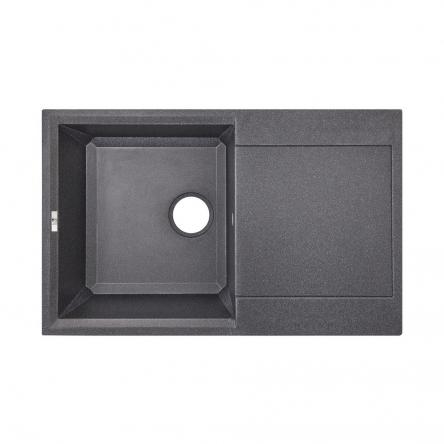Кухонна мийка Lidz 790x495/230 BLA-03 (LIDZBLA03790495230)