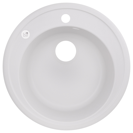 Кухонна мийка Lidz D510/200 WHI-01 (LIDZWHI01D510200)
