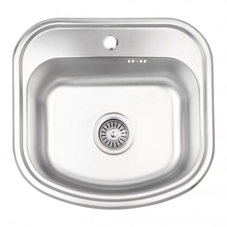 Кухонна мийка Lidz 4749 Micro Decor 0,8 мм (LIDZ4749MICDEC)