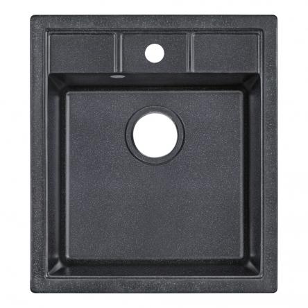 Кухонна мийка Lidz 460х515/200 BLA-03 (LIDZBLA03460515200)