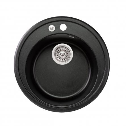 Кухонна мийка Lidz D510/200 BLM-14 (LIDZBLM14D510200)