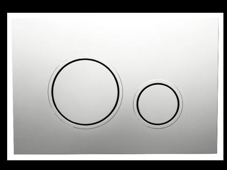 Кнопка управления Twin chrome
