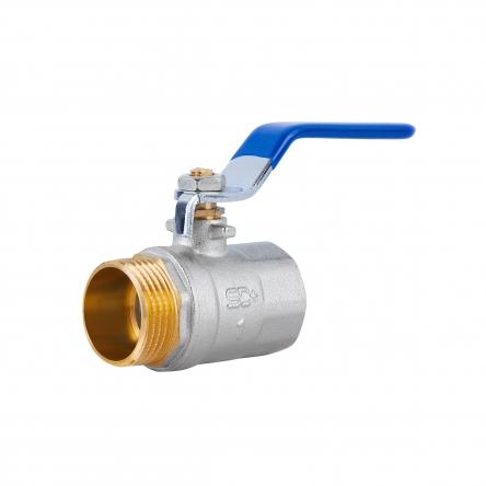 """Кран кульовий SD Plus 1"""" ВЗ для води (важіль) SD605W25"""