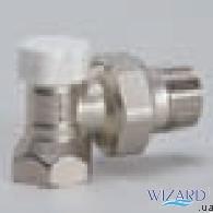 """Luxor Кран радиаторный отсекающий проходной 3/4"""" Easy DD 121"""