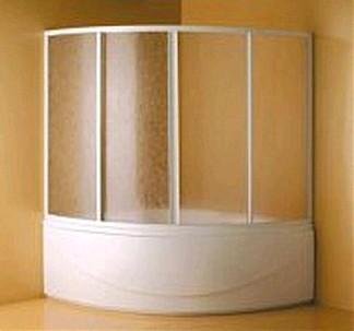Koller Pool Шторка на ванну Tera 150 White/Polystyrol - 328-1500KP0-04-01