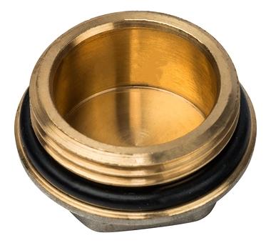 """Luxor Заглушка с уплотнительной прокладкой o-ring G 1"""""""