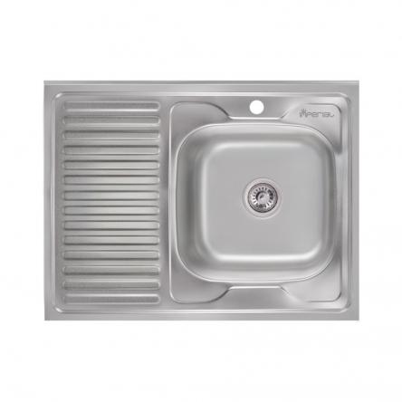 Кухонна мийка Imperial 6080-R Satin (IMP6080R06SAT)