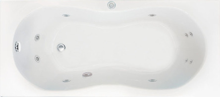 Koller Pool гидромассажная ванна Olimpia 170х70 Eco Hydro