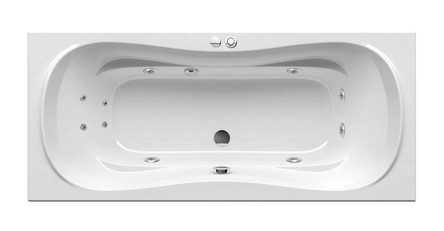 Ravak гидромассажная ванна Campanula II 170x75 Eco Hydro