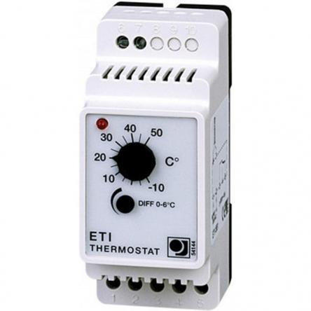 Oj Electronics Терморегулятор ETI-1551 для регулирования температуры в промислових системах