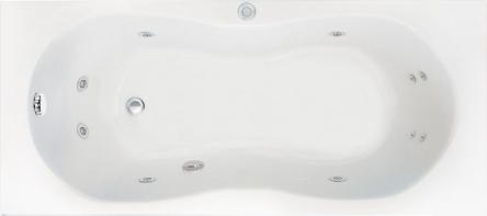 Koller Pool гидромассажная ванна Malibu 170х75 Eco Hydro