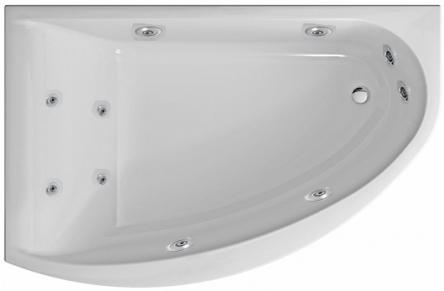 Kolo гидромассажная ванна Mirra 170x110 L Eco Hydro