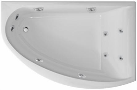 Kolo гидромассажная ванна Mirra 170x110 R Eco Hydro