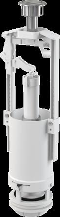 Alcaplast Сливной механизм со стоп-кнопкой удлиненный 590x390x430 A05-CHROM