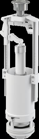 Alcaplast Сливной механизм со стоп- кнопкой 590x390x430 A2000-CHROM