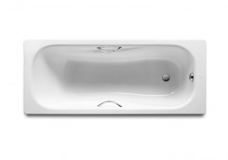 Roca PRINCESS ванна 150*75см прямоугольная, с ручками, без ножек - A220470001