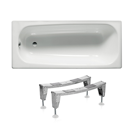 Roca Комплект: CONTESA ванна 160*70см прямоугольная + ножки - A235960000+A291021000