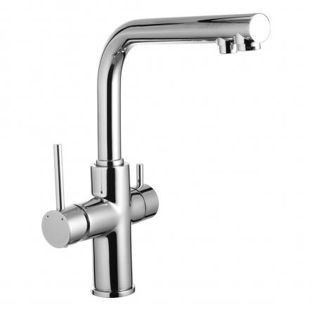 Imprese DAICY смеситель для кухни однорычажный с подключением питьевой воды. - 55009-F