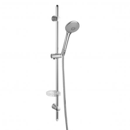 Imprese VACLAV штанга душевая L-72 см, мыльница, ручной душ 3 режима, шланг 1,5 м с вращающимся конусом (Anti-Twist) - 7212003
