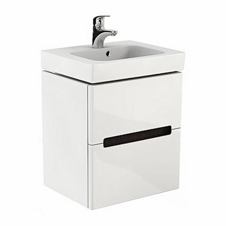 Kolo MODO шкафчик под умывальник 50*65*40см, белый глянец/венге (пол.) - 89424000