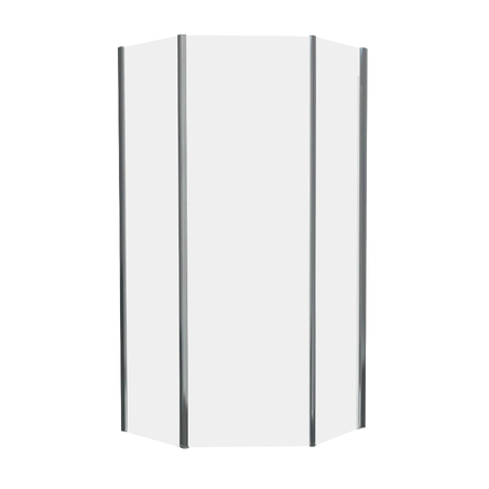 STEFANI душевая кабина 90*90*190 см. пятиугольная (стекла+двери) - ВЫПИСЫВАТЬ С КОМПЛЕКТОМ 599-535/3 : 599-535/1