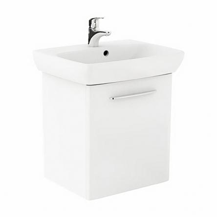 Kolo NOVA PRO умывальник 60см прямоугольный, со шкафчиком для умывальника, белый глянец - M39006000