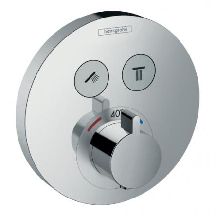 Hansgrohe Shower Select S Термостат для двух потребителей, СМ - 15743000