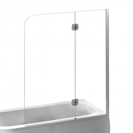 EGER Шторка на ванну 120*150см, правая, профиль хром - 599-120CH/R