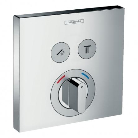 Hansgrohe ShowerSelect Смеситель для 2 потребителей, скрыт. монтаж - 15768000