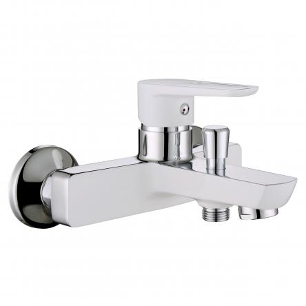 Imprese BRECLAV cмеситель для ванны, хром/белый, 35 мм - 10245W